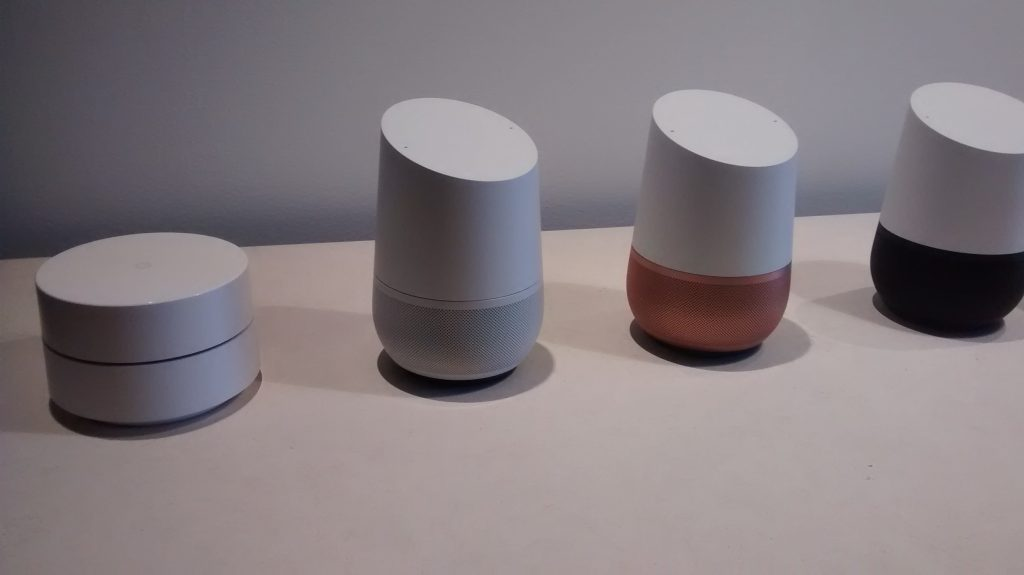 Google Home and Google WiFi