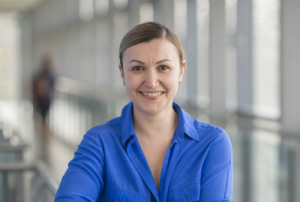 Elena Simperl, professor of computer science in Electronics and Computer Science at the University of Southampton and Data Pitch project director