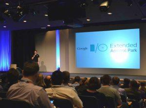 Mark Thomas speaking