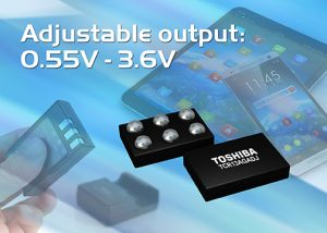 Toshiba launches 0.8x1.2x0.33mm CMOS LDO regulator