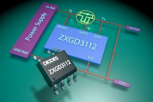 Diodes ZXGD3112 - Active OR controller powers up to 400V