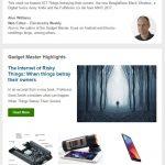 Gadget Master Newsletter