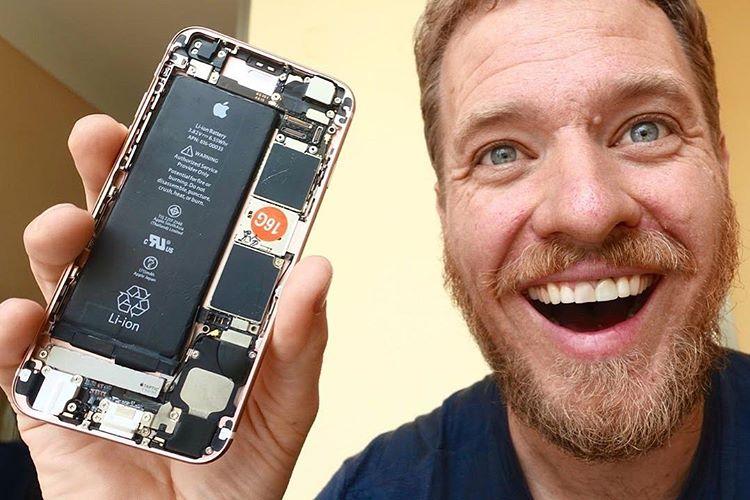Как собирают айфоны