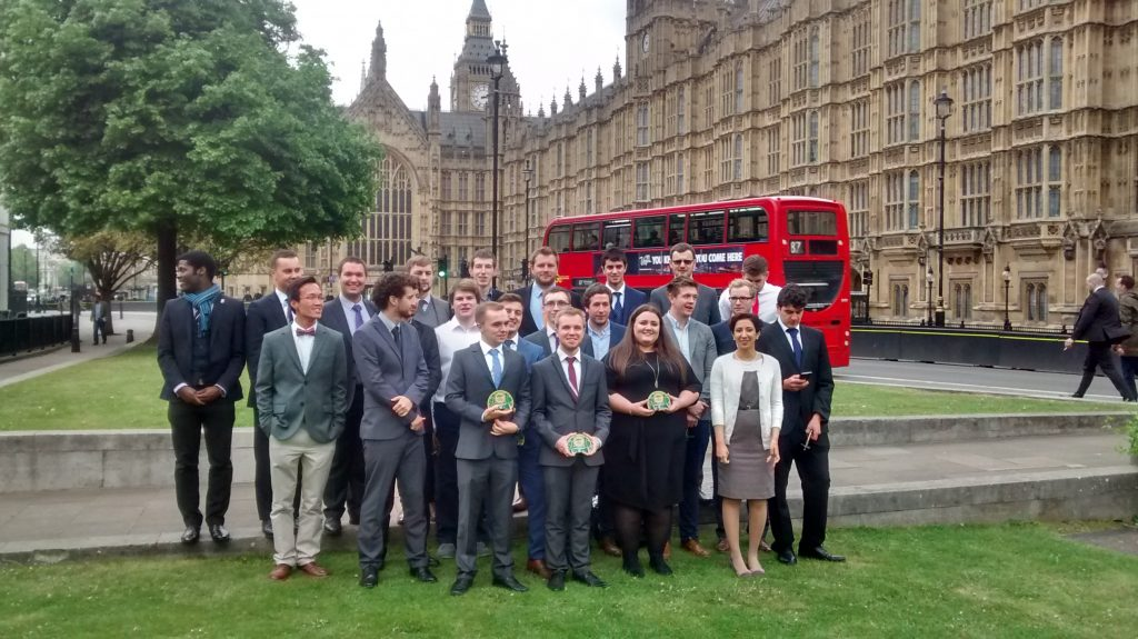 The EW BrightSparks class of 2017 is honoured at Houses of Parliament
