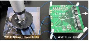 UNIST harvesting water motion detector