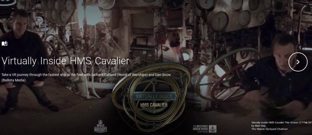 Virtually Inside HMS Cavalier VR