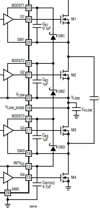 updated  adi hits 500w with switched capacitor power converter
