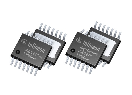 Infineon extends PROFET power switch family