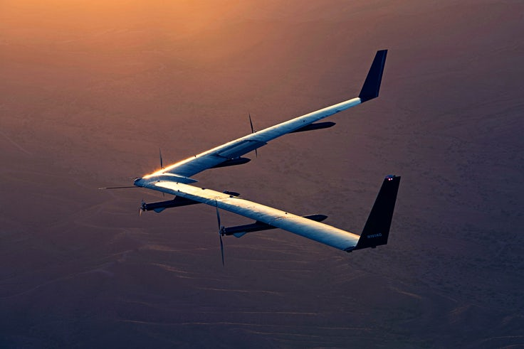 Picture of the Day: Facebook's Aquila drone flies again