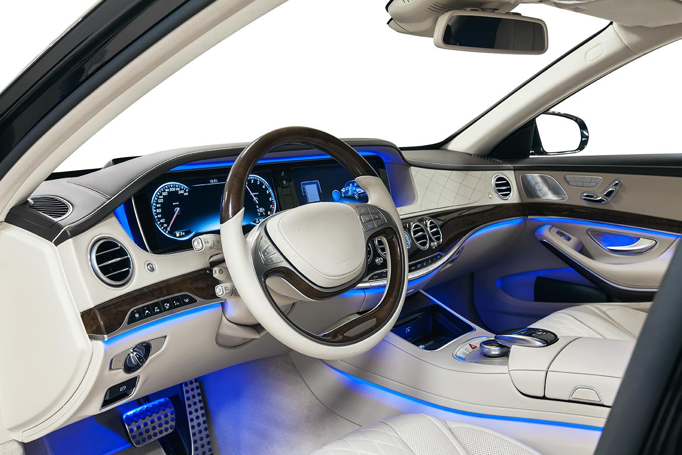 & Melexis chip improves car cabin lighting