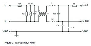 power, input filter