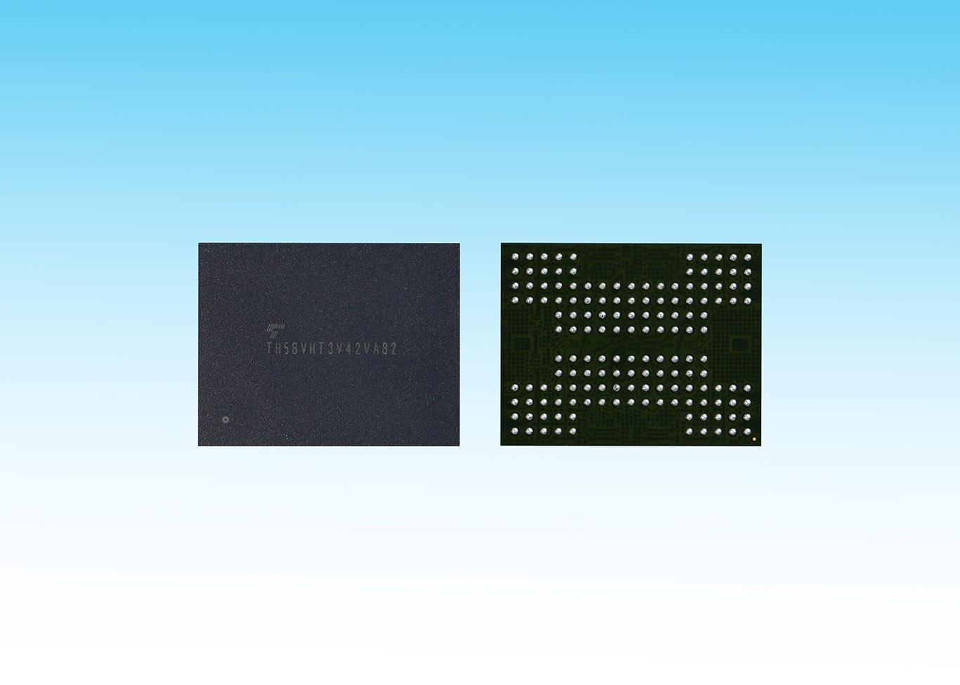 Toshiba Sampling 3d Nand With Tsvs