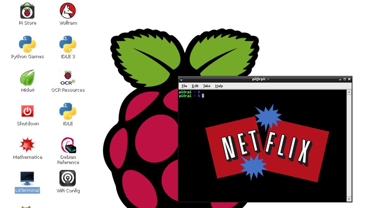 Raspberry Pi runs Netflix video streaming