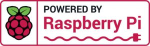 Powered by Raspberry Pi logo
