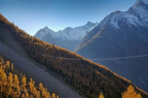 Charles Kuonen Suspension Bridge Zermatt Tourism