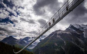 Charles Kuonen Suspension Bridge Europaweg