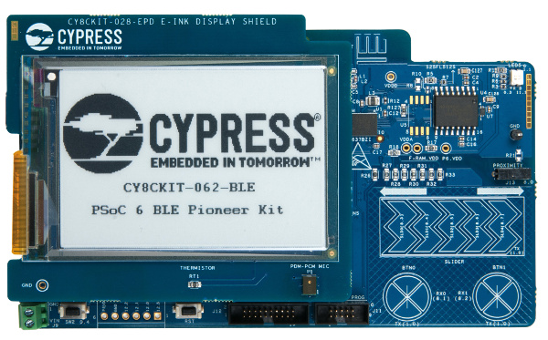Competition: Win a Cypress PSoC 6 BLE Pioneer Kit for the IoT