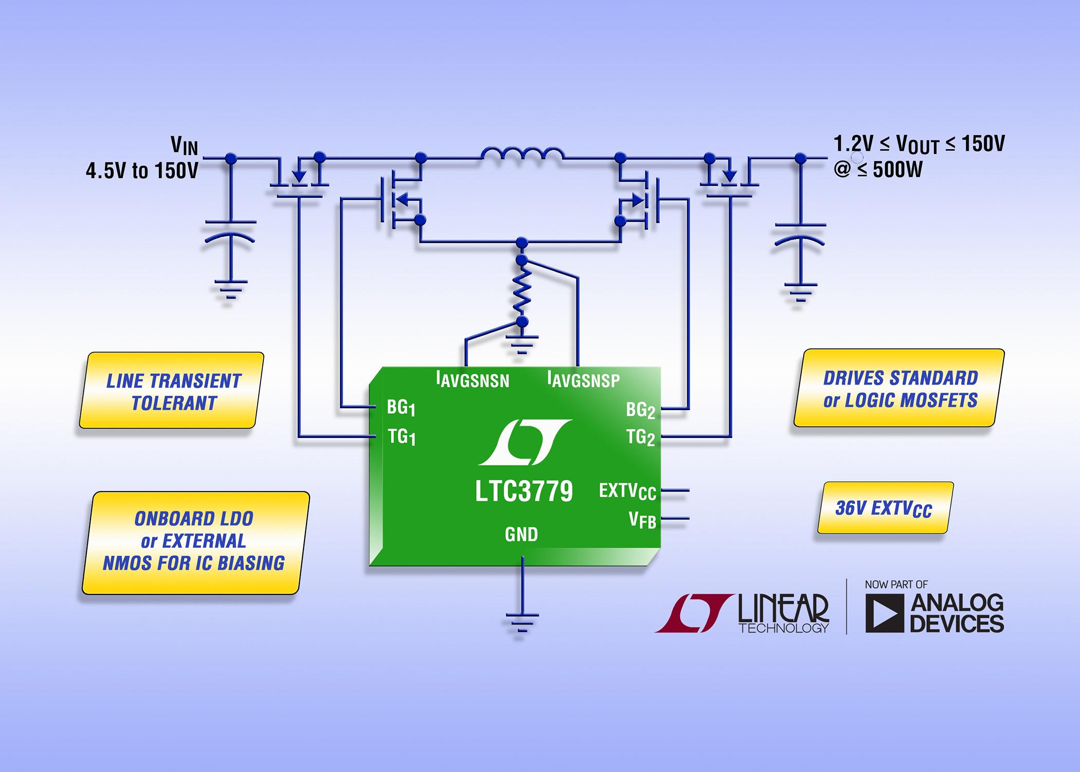 Efficient Ltc Buck Boost Dc Controller To Converter Circuit Also Design