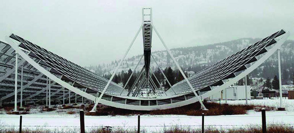 Radio telescope CHIME-770