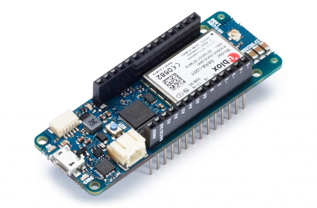 Arduino MKR GSM side