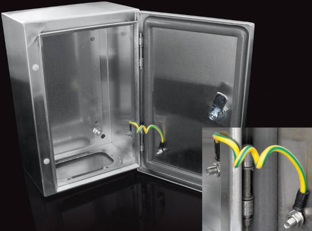 Tough stainless steel enclosures for risky and clean