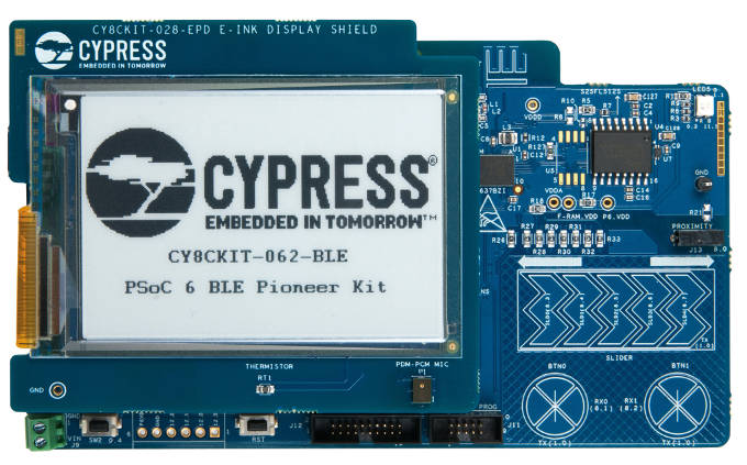 RS Comp Cypress CY8CKIT-062-BLE 680
