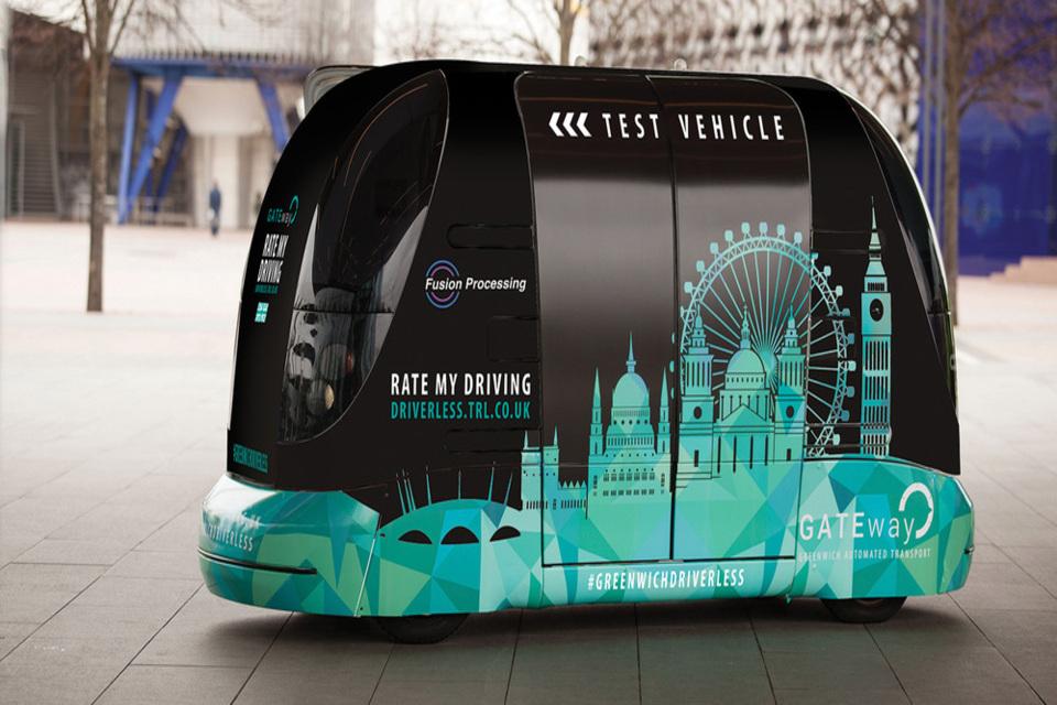 CAV trl-driverless