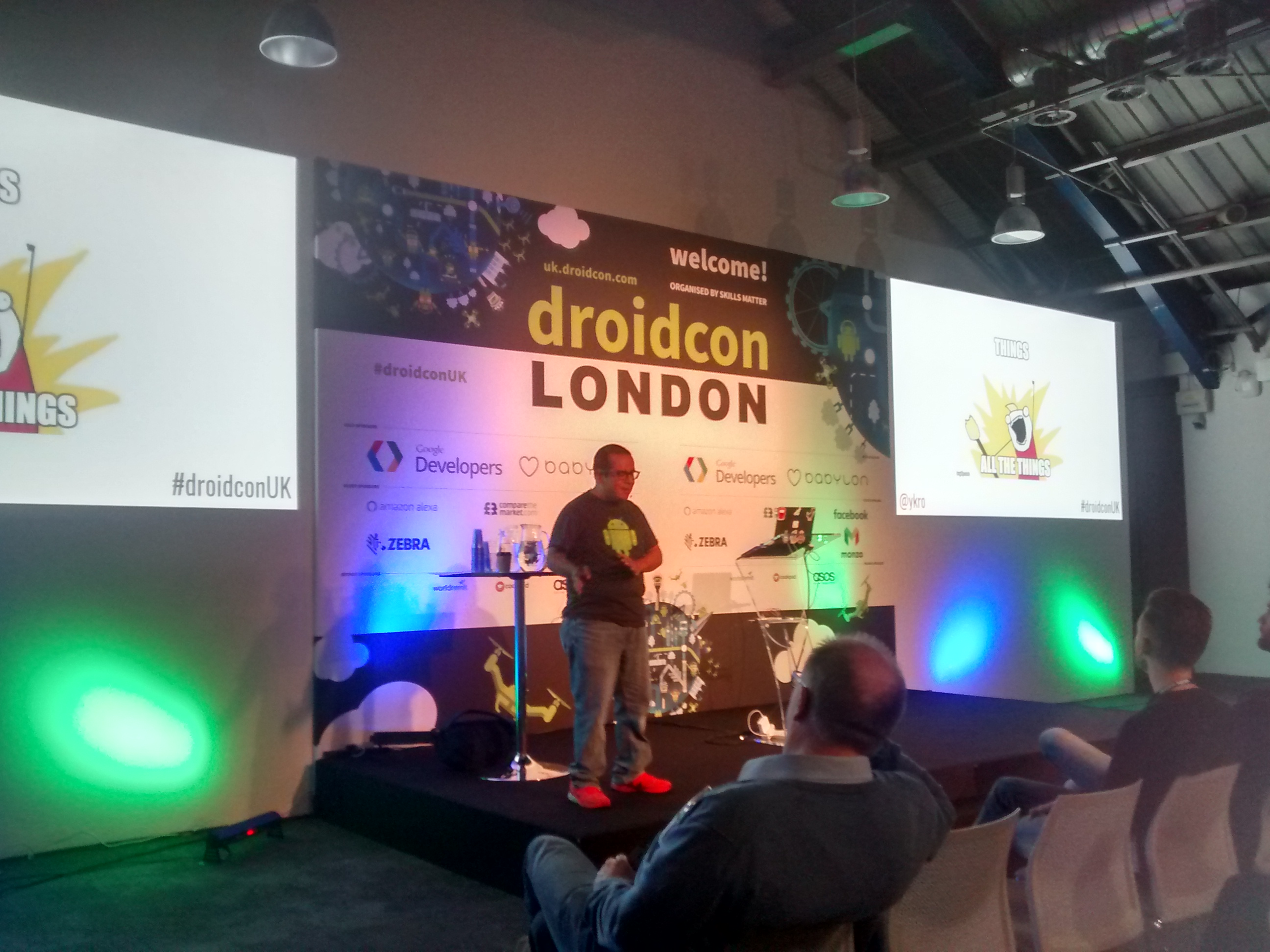 Drones, Things and Android galore at droidcon London 2017
