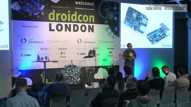 droidcon London 2017: Android Things to the fore