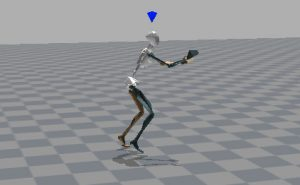 Xsens software basketball player