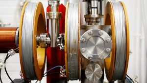 Aalto University positron accelerator