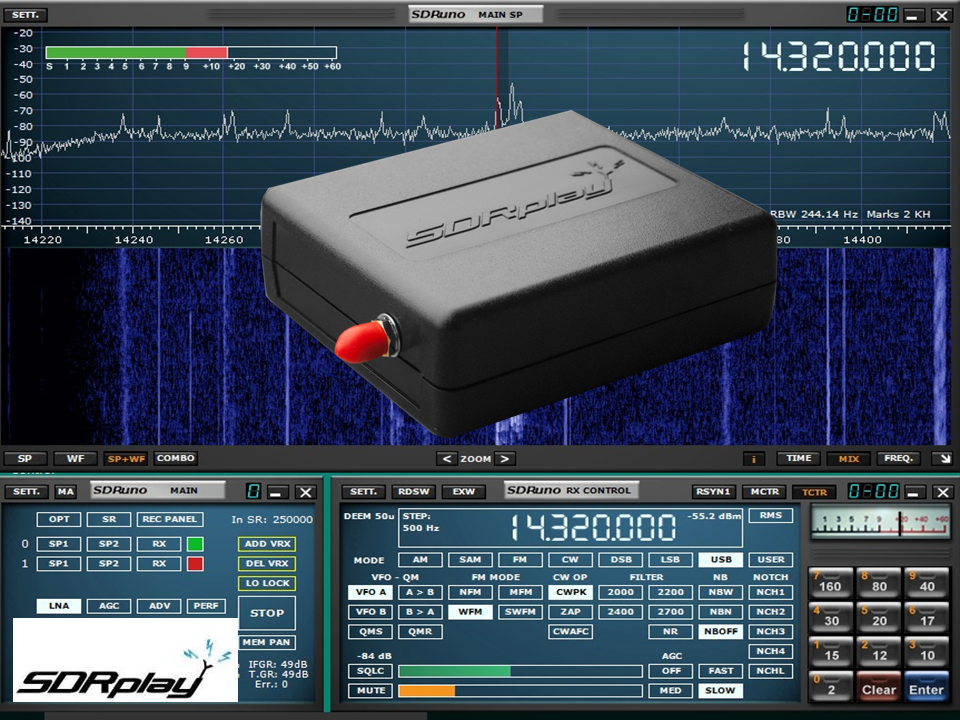 SDRplay's upgraded 14-bit SDR covers RF spectrum from 1kHz