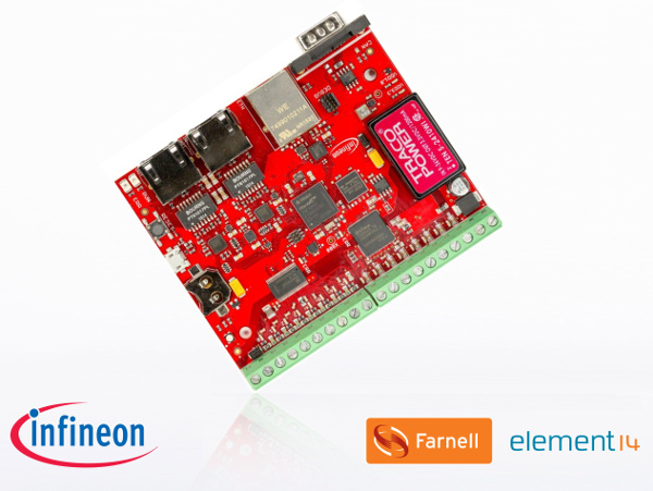 Win an Infineon XMC4800 Automation Board V2