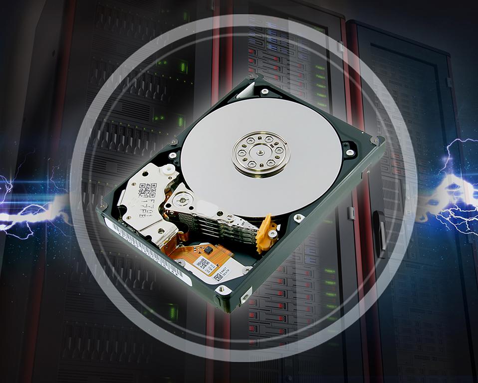 Toshiba sampling 2 4TB 10,500 rpm HDD