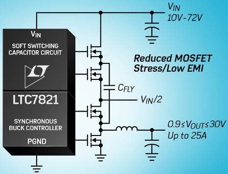 Hybrid Dc Dc Converter Stirs Switched Capacitor Into Buck