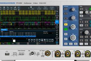 RandS-RTA4000-oscilloscope