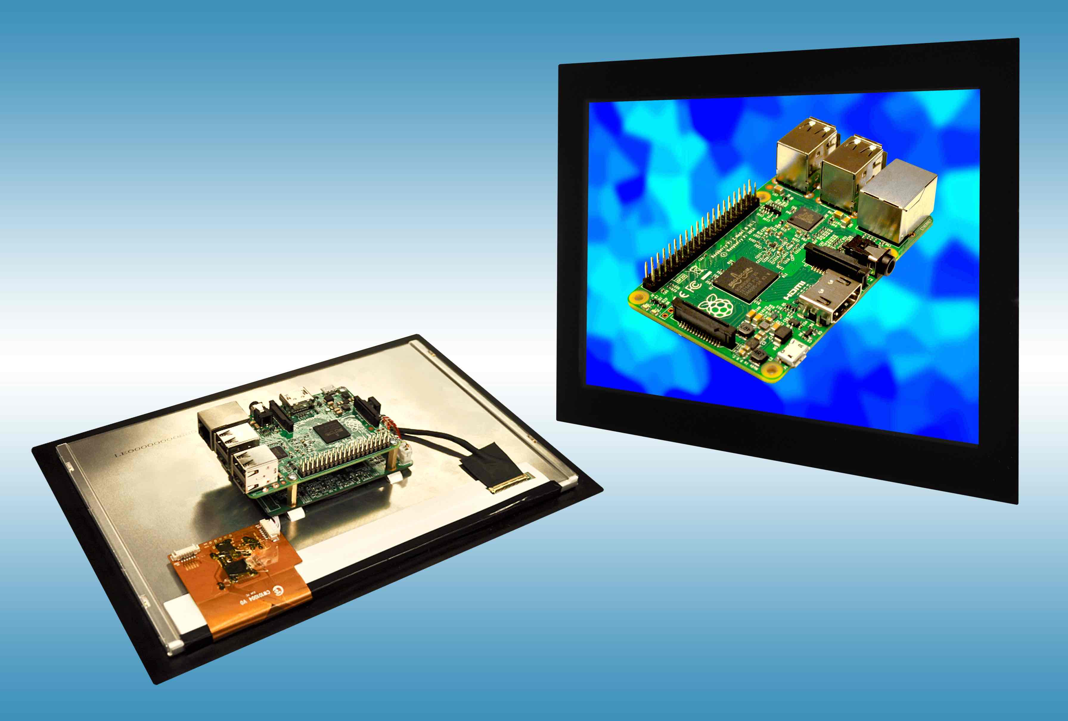 Raspberry Pi gets 10 1-inch industrial grade touch screen