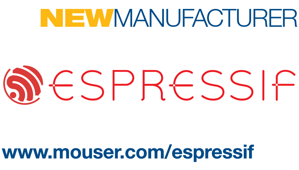 Mouser signs Espressif