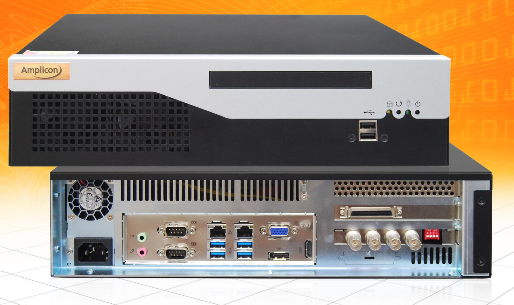 Amplicon's Mini-ITX is first in a line of branded industrial computers