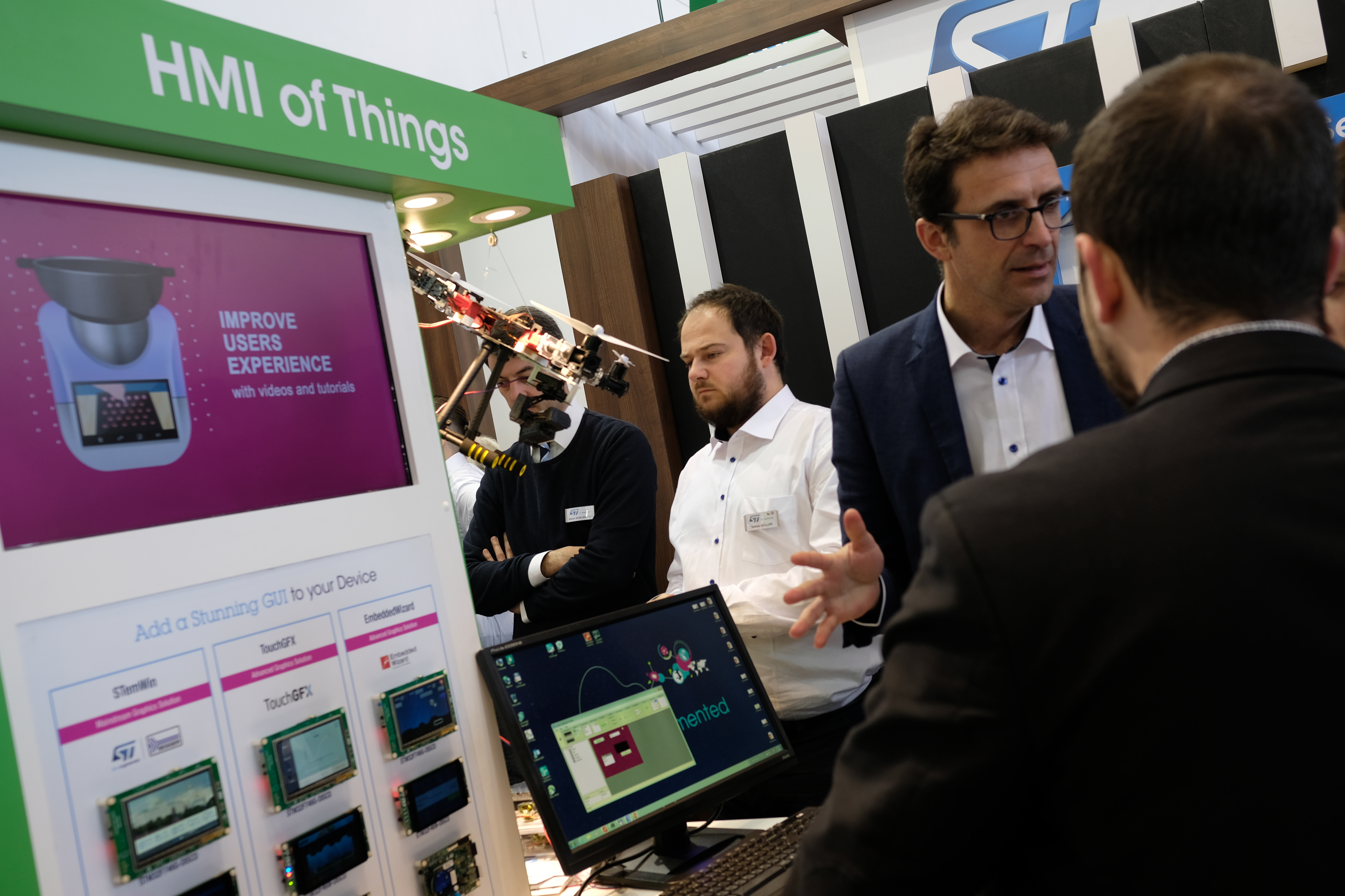 Embedded World 2018: In picture form