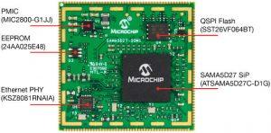 Microchip-ATSAMA5D27-SOM1