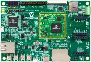 Microchip-ATSAMA5D27-SOM1-eval-kit