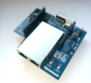 Renesas-RJ45-Ethernet-module