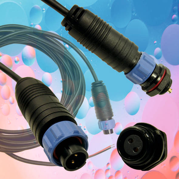UK made: IP68 waterproof connector and cable assembly