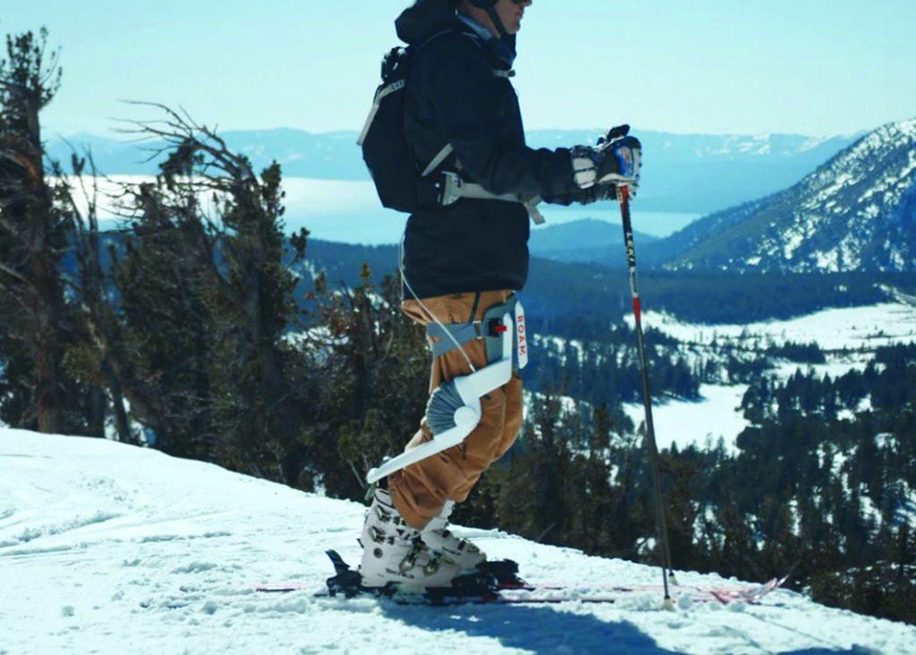Roam robotic ski exo-skeleton