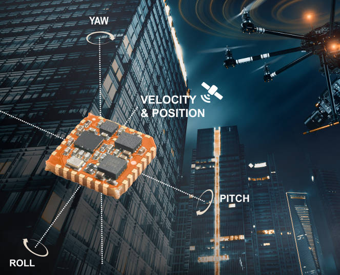 Inertial platform squeezes acceleration, gyros and magnetic