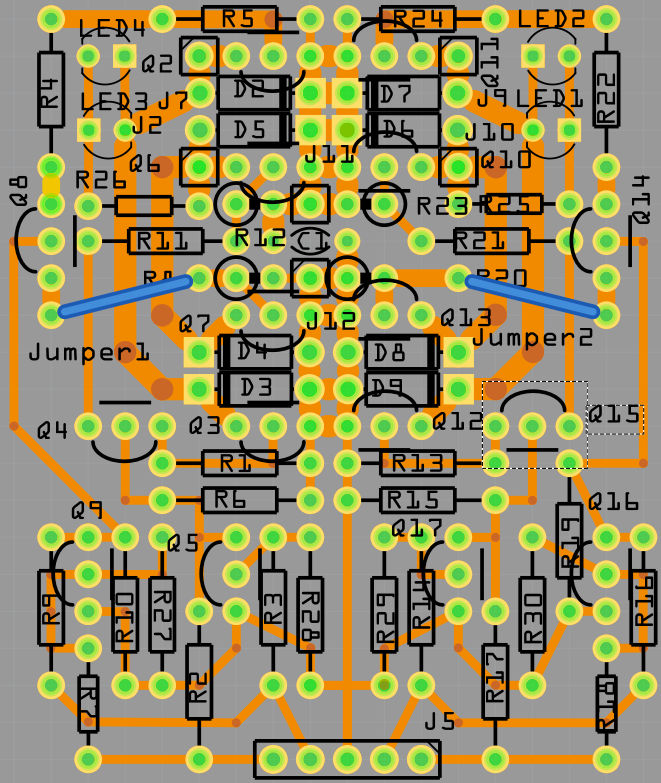 Makers: Robot motor driver using Fritzing