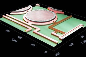 Fraunhofer-post-CMOS-pressure-sensor