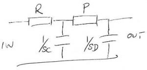 Two-pole-RPCD-filter