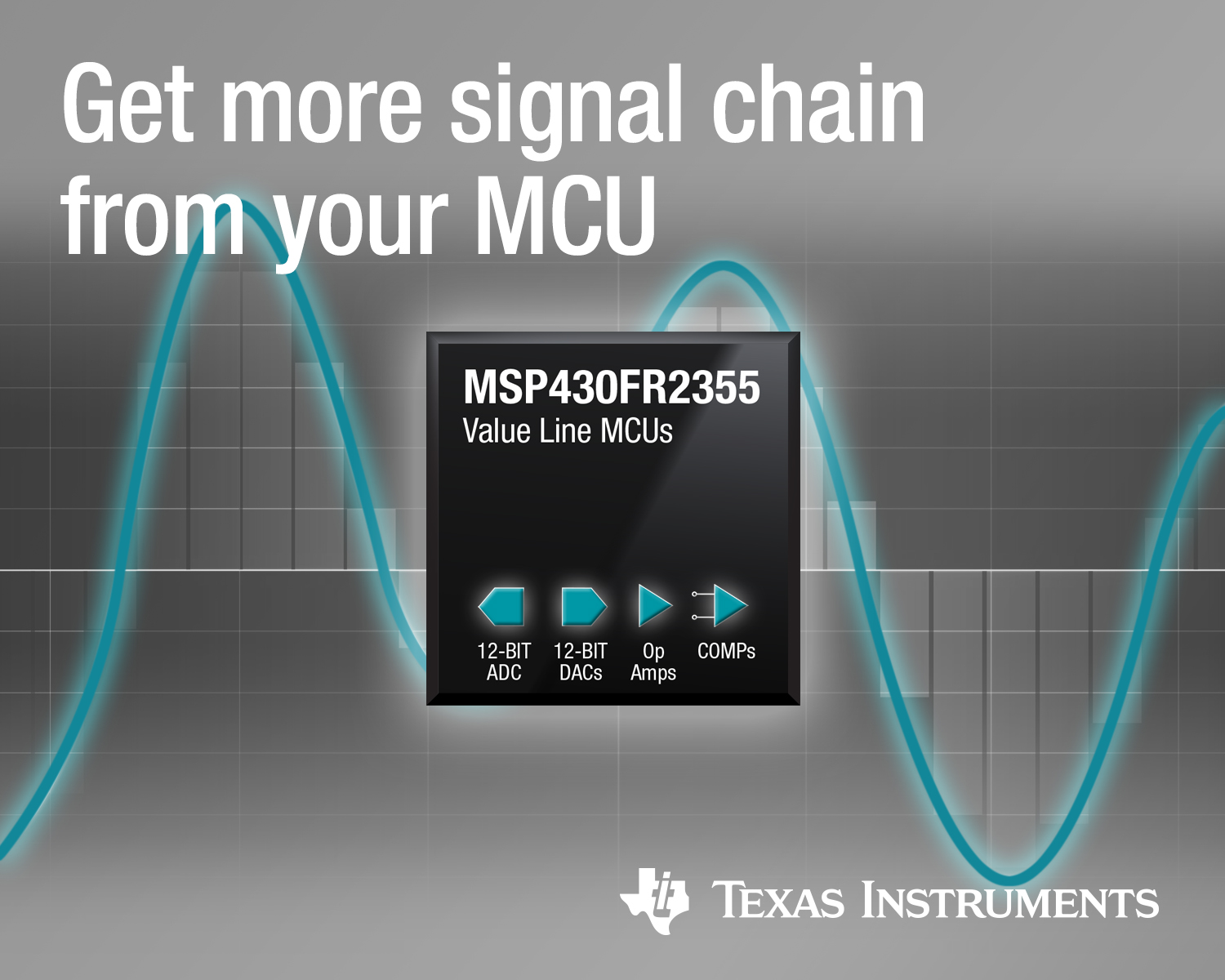 TI adds integrated signal-chain elements to value MCUs